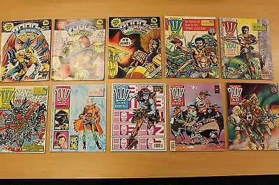 2000Ad,  Collection Of 10, The Best Of 2000Ad Monthly.