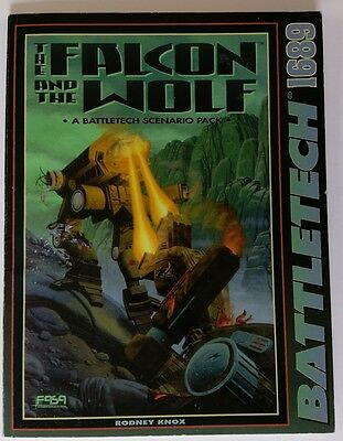 Battletech The Falcon and the Wolf sourcebook FASA 1689