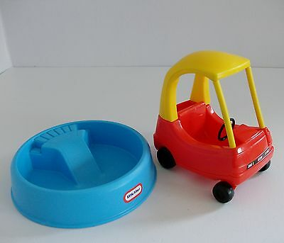 Little Tikes Dolls House Cozy Coupe & Paddling Pool