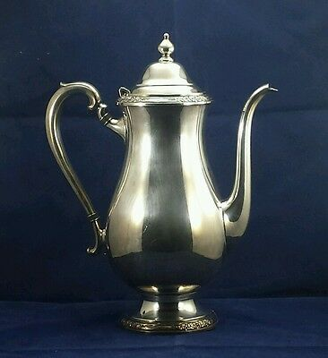 International Silver Co. CAMILLE Silver Plate Coffee Pot #6001