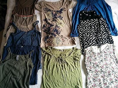 Massive Bundle Of 10 Womens Tops - Boden, Next, Fatface, Rocha,  Size 8-10