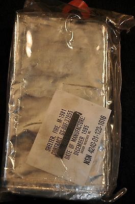 USFS Shelter Fire, M-1981 sealed in package & never dawned 'Anchor Ind' 1985 mfg