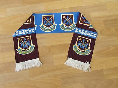 Early Style WEST Ham United Hammers FOOTBALL Club Scarf