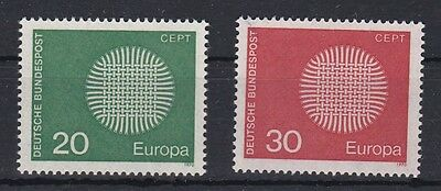 timbres Europa CEPT Allemagne 1970 Neufs**MNH