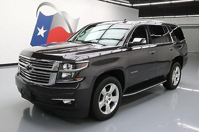 2016 Chevrolet Tahoe LTZ Sport Utility 4-Door 2016 CHEVY TAHOE LTZ 4X4 CLIMATE SEATS SUNROOF NAV DVD #147285 Texas Direct Auto