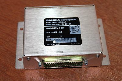 New Sandia Aerospace SRU 1-623 Module with pins and connector