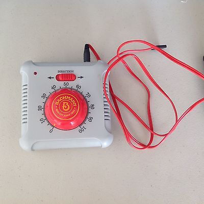 Bachmann Speed Controller, Red Knob, With Red Track Wire, 46605