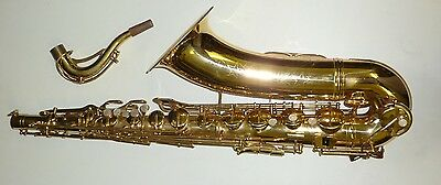Vintage Conn Tenor saxophone made in Mexico
