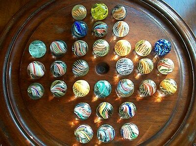 Collection Rare Antique Vintage Collectable Handmade Glass Marbles