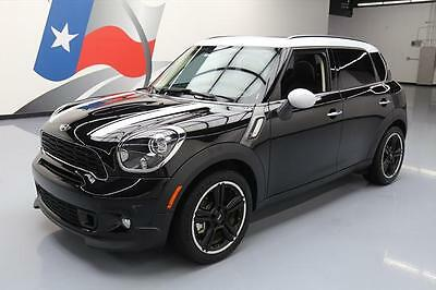2013 Mini Countryman S Hatchback 4-Door 2013 MINI COUNTRYMAN COOPER S TURBO 6-SPD PANO ROOF 36K #P51258 Texas Direct