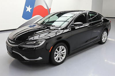 2016 Chrysler 200 Series  2016 CHRYSLER 200 LIMITED REAR CAM BLUETOOTH ALLOYS 44K #141192 Texas Direct
