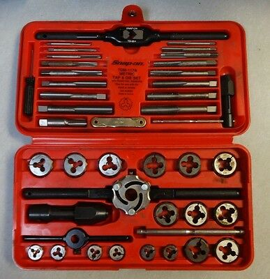 Snap-on TDM-117A Metric Tap & Die Set NICE LOOK !!!