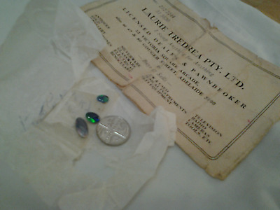 LOOSE OPAL from AUSTRALIA PAWNBROKER different sizes for ring jeweller to mount