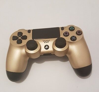Mando ps4 controller inalámbrico dualshock ps4 Sony PlayStation original dorado