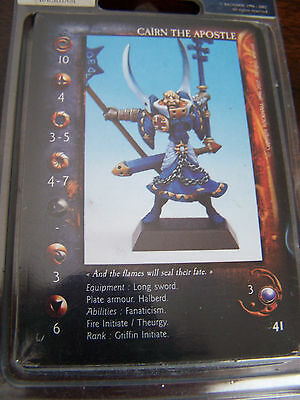 Rackham Confrontation Griffin Cairn the Apostle (English card included, OOP)