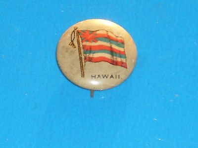 "Hawaiian - SHEFFIELD SEALECT ""A"" - Pinback Vintage Highly Collectible #2"