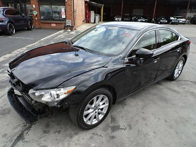 2016 Mazda Mazda6 i Sport 2016 Mazda Mazda6 i Sport Salvage Wrecked Repairable! Priced To Sell! L@@K!!