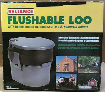NEW OPEN BOX Reliance Flushable Loo $148