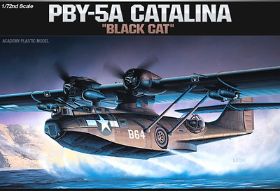 Academy 1/72 PBY-5A Catalina Plastic Model Kit *Aus Decals* (ACA-12487)