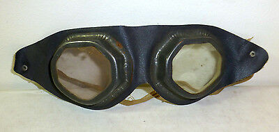 Antique bicycle or motorcycle goggles, glasses