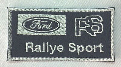 Patch / Ecusson FORD RS RALLYE SPORT