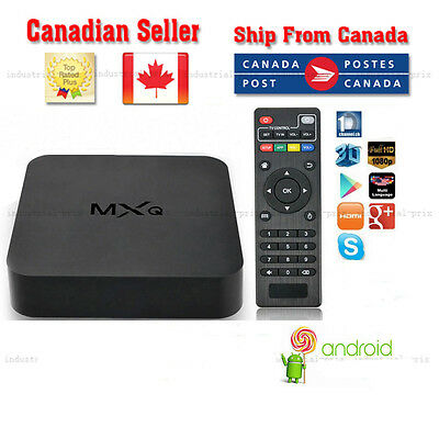 Fully Loaded  Android  Smart TV Box S805 Quad Core 8GB WiFi 1080 canadian seller