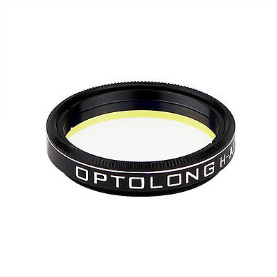 """OPTOLONG H-Alpha 7nm 1.25"""" Filter Narrowband for Astronomical Photography US New"""