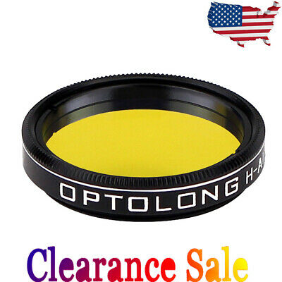 """OPTOLONG H-Alpha 7nm 1.25"""" Filter Narrowband for Deep Sky Astrophotography US"""