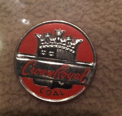 Crown Royal Coal Mining Scatter Tag