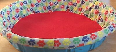 Large Whelping Pool / Box Cover From Tag's Puppy Stuff