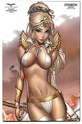 Grimm Fairy Tales Red Agent Human Order #6 VIP Zenbox Exclusive Variant Cover F