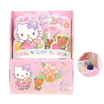 Sanrio Hello Kitty Memo Pad 5 style Set W/ Case  Registered Shipping