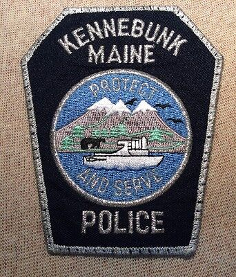 ME Kennebunk Maine Police Patch