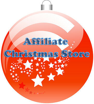 Turnkey Amazon Affiliate Christmas Store Website Business For Sale With Domain