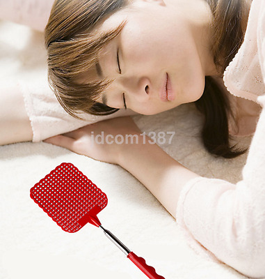 Useful Extendable Fly Mosquito Bug Swatter Telescopic Expanding Pest US