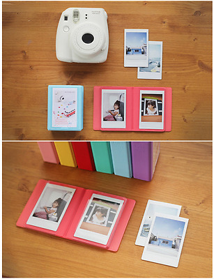 Candy Color Polaroid 36 Pkt Mini Photo Album FujiFilm Instax 7 8 90 Fuji Film