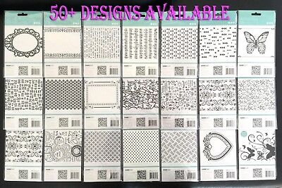 "SALE Kaisercraft Kaiser 4""x6"" Embossing Folder Scrapbooking Card Making"