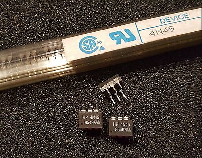 HEWLETT PACKARD 4N45 High Speed Optocouplers 3750 Vrms 0.5mA **NEW** Qty.10