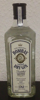 Bombay London Dry Gin bottle 70cl cocktail gin 37,5% mixed cuba jamaica drink