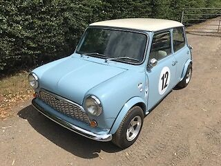 Austin Mini race cooper tribute