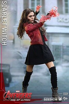 Hot Toys Scarlet Witch Age Of Ultron 1/6 Figure New UK