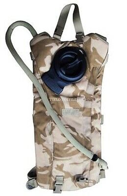 British Army Desert Camel Bak Hydration System Camping Hiking - Grade 1 Used