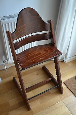 Stokke Tripp Trapp high chair in walnut - (number 2)