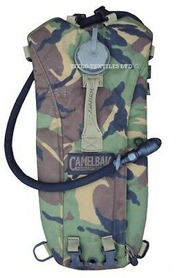 British Army Dpm Camouflage Hydration System Camping Cadet Hiking Camel Bak Used