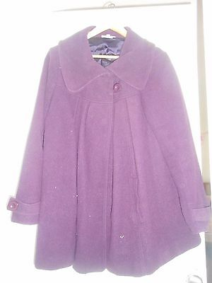 Womans Jojo Maman Bebe Maternity Swing Coat Size 10