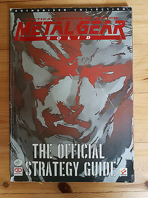 Metal Gear Solid - the official strategy guide