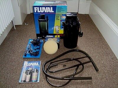Fluval 303 power filter for fish tank aquarium working for Fish tank filter not working