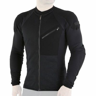 Knox Urbane Motorcycle Protective Armoured Shirt Black