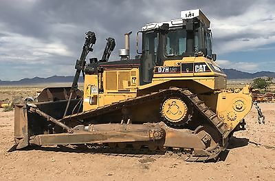 Caterpillar D7H Dozer Lgp Straight Dozer Rear Winch