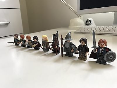 Lord Of The Rings. Whole Fellowship Mini Figures Minifigs Lego. Job Lot